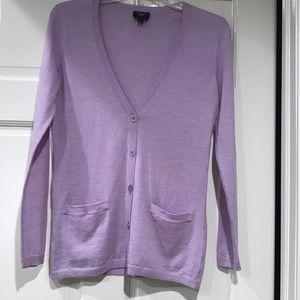 Talbots 100% Merino Cardigan Sweater, NWOT